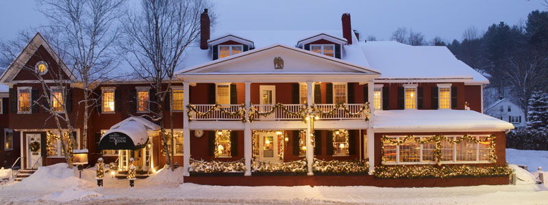 Stowe Vermont Inns - Green Mountain Inn Stowe Village VT